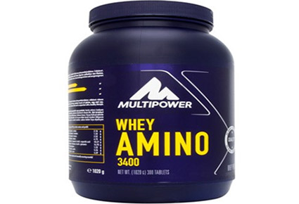multipower whey amino