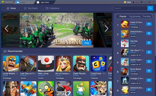 En İyi Android Emulator BlueStacks