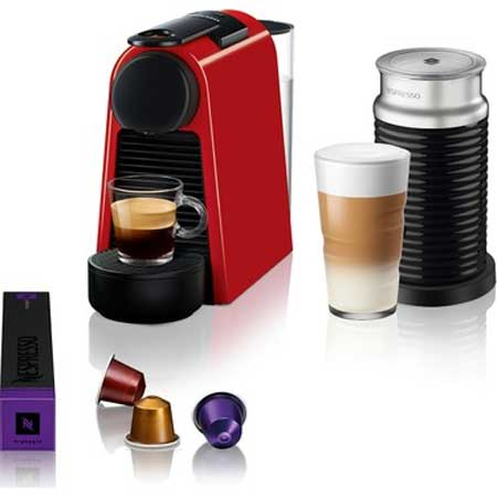 Nespresso Essenza Mini D35 Red Bundle Kahve Makinesi