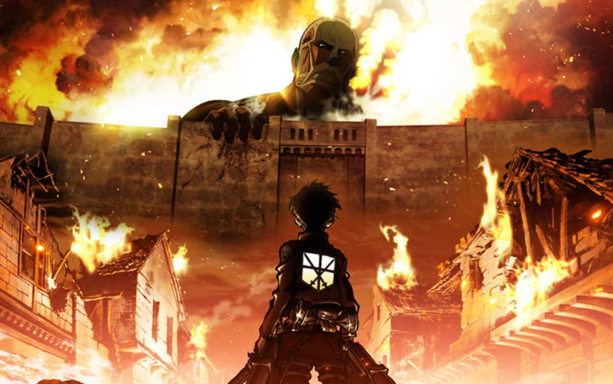 En İyi Anime Attack on Titan