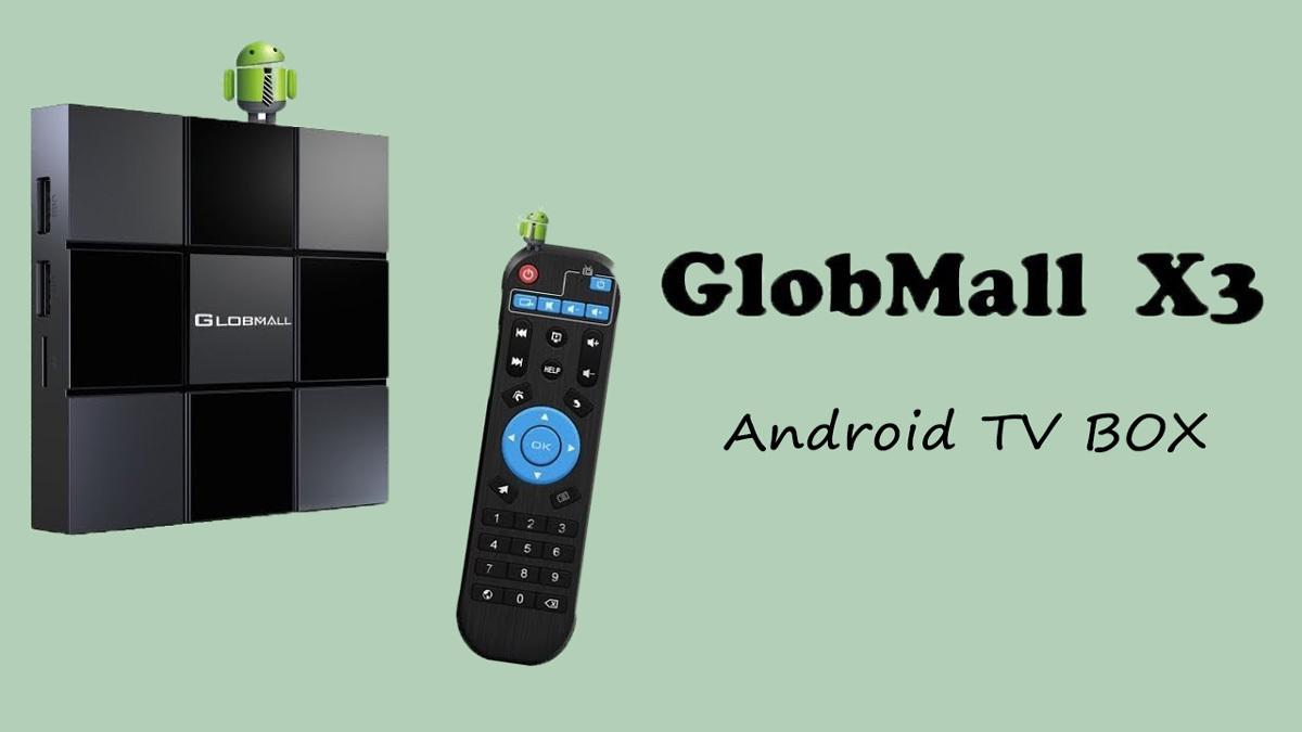 Globmall X3 Smart TV Box